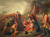 The Death of General Wolfe (1727-59), C.1771 Giclee Print by Benjamin West