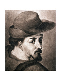 Miguel De Cervantes Saavedra (1547-1616) Giclee Print by Francisco Pacheco