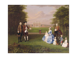 Robert Gwillym of Atherton and His Family, C.1745-7 Giclee Print by Arthur Devis