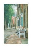 Street in Altenbruch, 1893 Giclee Print by Thomas Ludwig Herbst