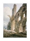 Lindisfarne Abbey, C.1797 Giclee Print by Thomas Girtin