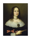 Portrait of Vittoria Della Rovere (1622-95), Grand Duchess of Tuscany Giclee Print by Justus Sustermans
