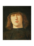 Portrait of a Young Man Giclee Print by Lorenzo Lotto