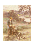 The Reaper's Rest Giclee Print by Léon Augustin L'hermitte
