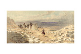 The Entrance of Ancient Samaria, 1870 Giclee Print by Carl Haag