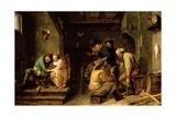 Tavern Scene, C.1635 Giclee Print by Adriaen Brouwer
