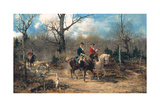 The Autumn Ride, C.1875-80 Giclee Print by Alfred von Wierusz-Kowalski