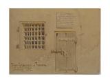 Jasso's Prison in Ferrara, 1852 Giclee Print by Carl Haag