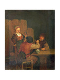 Domestic Interior Giclee Print by Adriaen Brouwer
