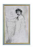 Self Portrait Giclee Print by James Abbott McNeill Whistler