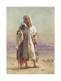 A Young Bedawee from Sinai, 1873 Giclee Print by Carl Haag