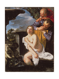 Susannah and the Elders, 1622 Giclee Print by Artemisia Gentileschi
