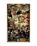 Death of St. Isidore Giclee Print by Juan de Roelas