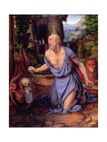 St. Jerome in the Wilderness, C.1510-15 Giclee Print by Andrea Solario