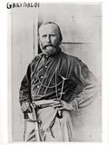 Portrait of Giuseppe Garibaldi (1807-82) 1860 Photographic Print by Gustave Le Gray