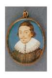 Unknown Member of the Dorset Family, Miniature, C.1615 Giclee Print by Isaac Oliver