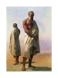 Two Dervishes, 1858 Giclee Print by Carl Haag