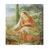 The Virgin from 'Rest on the Flight to Egypt', 1805-06 (Detail) Giclee Print by Philipp Otto Runge