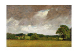 Malvern Hall from the South-West, 1809 Giclee Print by John Constable