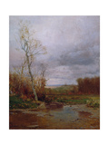 River Landscape, 1880 Giclee Print by Jervis Mcentee