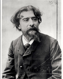 Alphonse Daudet (1840-96) Photographic Print by Eugene Pirou