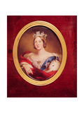 Portrait of Queen Victoria, 1858 Giclee Print by William Essex