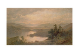 Lake Placid and the Adirondack Mountains from Whiteface, 1878 Giclee Print by James David Smillie