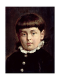 Portrait of a Young Boy, 1883 Giclee Print by Jan Matejko
