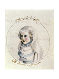 Mary Queen of Scots, C.1790 Giclee Print by Cassandra Austen