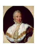 Portrait of Charles X (1757-1836) King of France Giclee Print by Georges Rouget