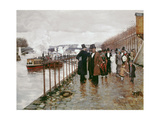The Wedding Departure, 1878 Giclee Print by Norbert Goeneutte