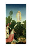 The Finding of the Veil, from the Legend of St. Leopold, 1505 Giclee Print by Rueland Frueauf the Younger