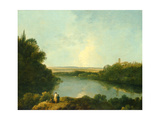 The Nemi Lake Near Rome, C.1760 Giclee Print by Richard Wilson