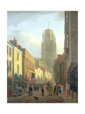 Redcliffe Street, Bristol, C.1821 Giclee Print by James Johnson