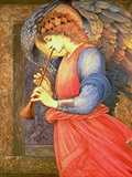An Angel Playing a Flageolet, 1878 Gicléedruk van Sir Edward Coley Burne-Jones