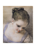 Head of a Girl Giclee Print by Benedetto Luti