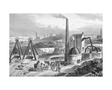 Staffordshire Colliery from 'Cyclopaedia of Useful Arts and Manufactures', Edited by Charles… Giclee Print by William Henry Prior