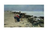 Seaside Holiday, 1888 Giclee Print by Jozef Wodzinski