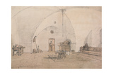 An Interior on Tiberias, 1859 Giclee Print by Carl Haag