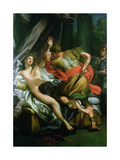 Tarquinius and Lucretia Giclee Print by Andrea Procaccini