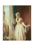 The Soldier's Farewell, 1853 Giclee Print by John Callcott Horsley