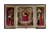 The Bourbon Altarpiece, C.1498 Giclee Print by  Master of Moulins