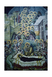 Dormition of the Virgin Giclee Print by  Michael Astrapas and Eutychios