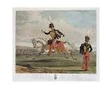 The Eleventh, or Prince Albert's, Hussars, Engraved by Charles Hunt Giclee Print by J. Earp