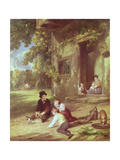 The Kitten Deceived, 1816 Giclee Print by William Collins