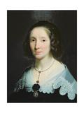 Portrait of Charlotte Duchesne Giclee Print by Philippe De Champaigne