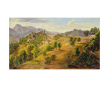 The Serpentara at Olevano, C.1824 Giclee Print by Joachim Faber