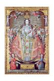 Virgen De La Candelaria Giclee Print by Luis Nino