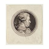 Carl Friedrich Abel (1723-87) Engraved by Augustin De Saint-Aubin (1736-1807) 1781 Giclee Print by Charles Nicolas II Cochin