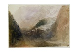 Brenva Glacier, Val D'Aosta Giclee Print by J. M. W. Turner